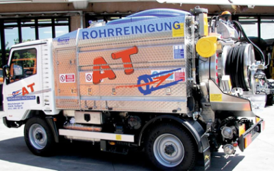 Mini-Saugwagen