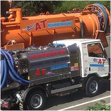 A&T Rohrreinigung Stuttgart Absaugarbeiten und Entsorgung