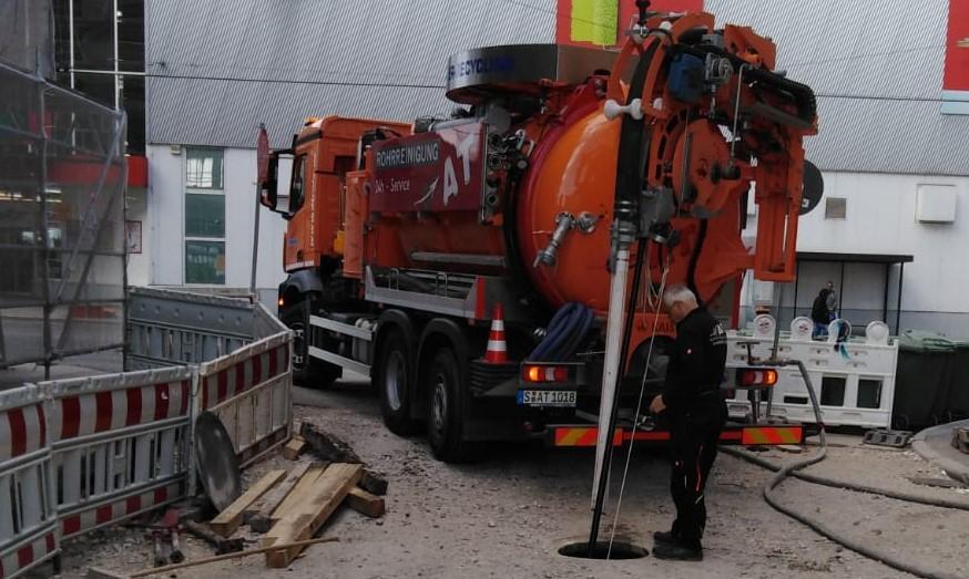 A&T Rohrreinigung reinigt auch in Heilbronn Ihre Rohre