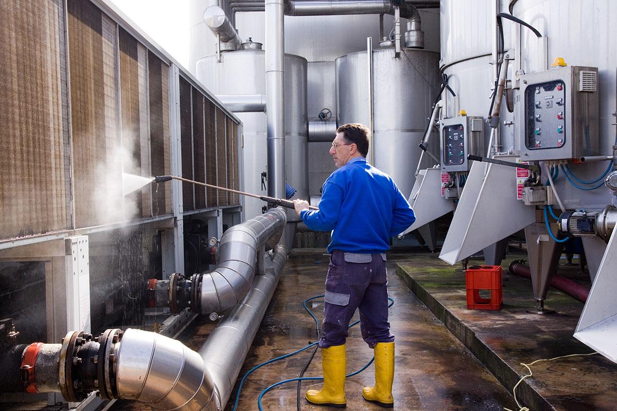 Wasserhöchstdruckreinigung ohne Chemie
